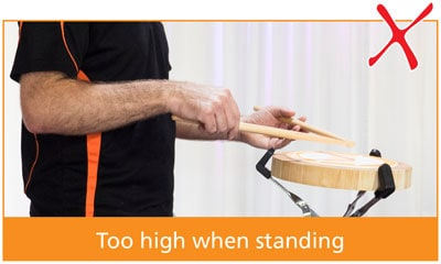 dm-drum-practice-incorrect-toohigh-standing-side-3